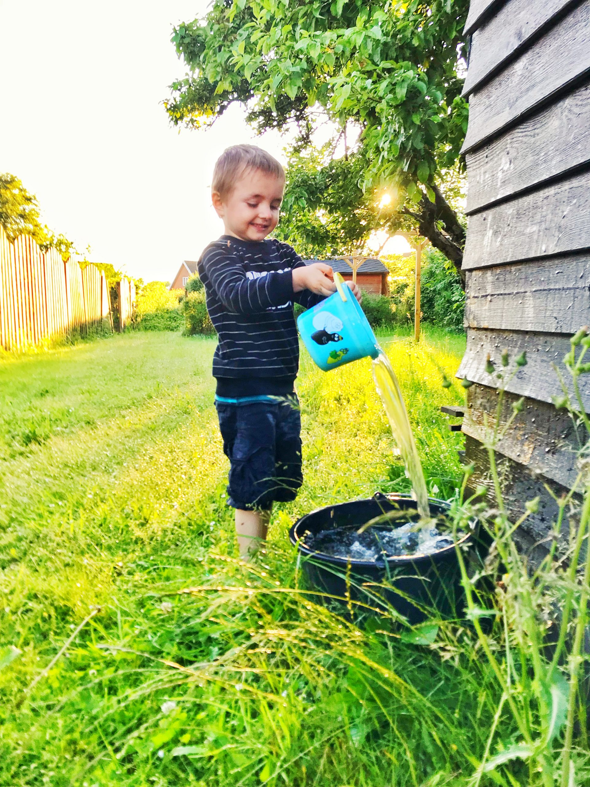best local lawn care company in Blacksburg mowing the lawn